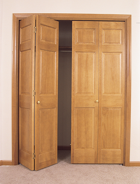 Any Style Of Door Is Available As A Bi Fold, Complete With Johnson Track  And Hardware.